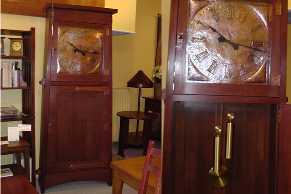 The Asheville Clock By Stickley